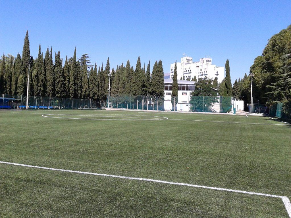 Рулонный газон для футбольного поля, спортивных площадок